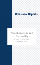 Neoliberalism and Inequality Cover