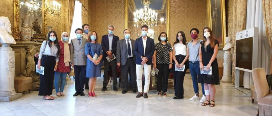MA Students meet the Mayor of Palermo